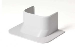 Прямой ввод в стену 74х55 мм для кабель-канала 74х55 (белый)