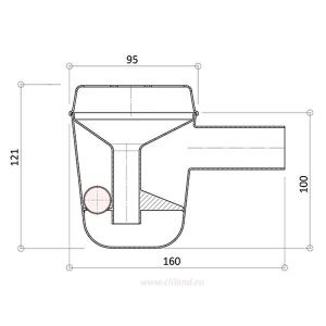 СИФОН для кондиционера  REX FABER G-33